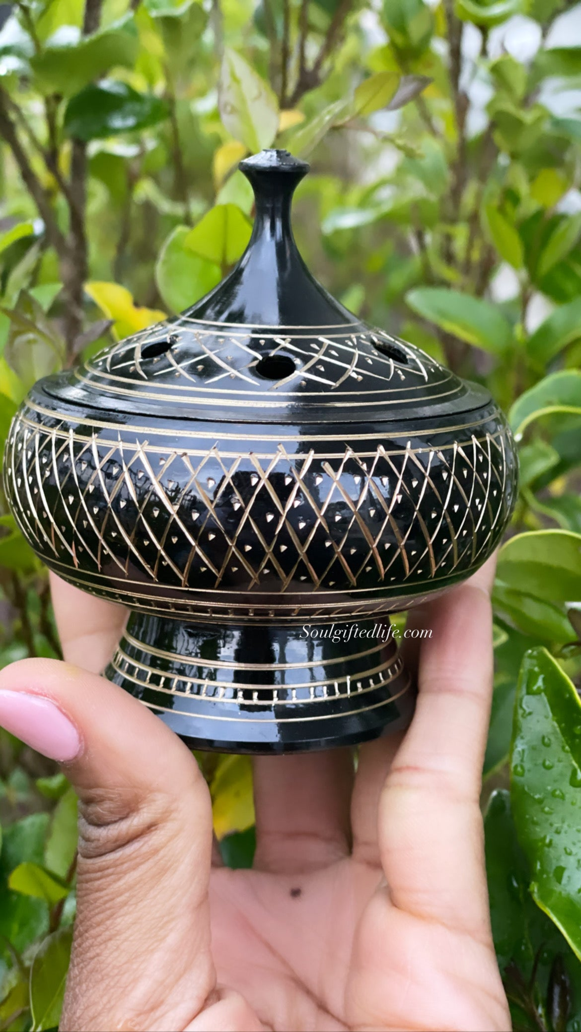 Brass Charcoal Burner Kit