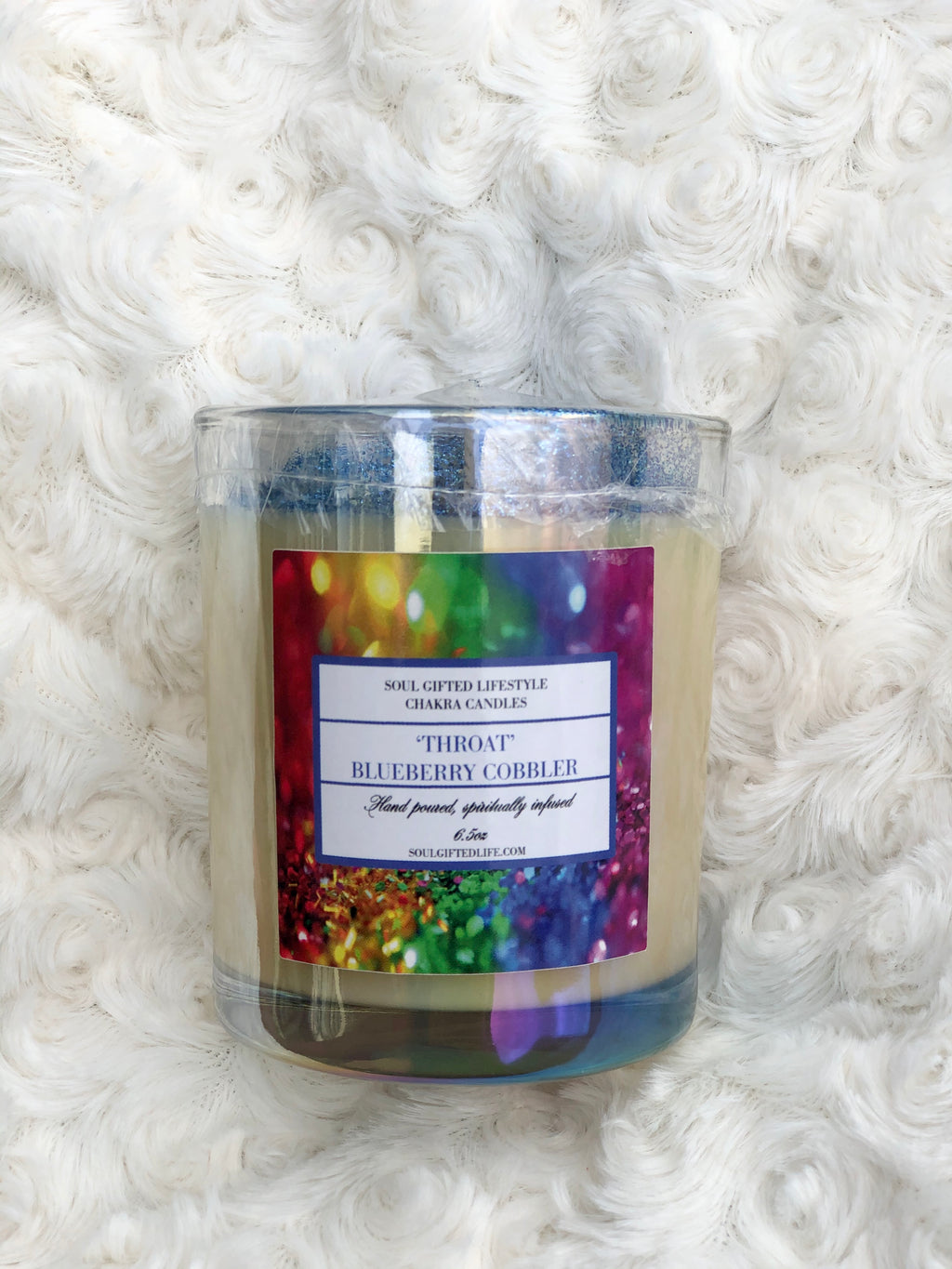 Throat Chakra Candle (Blueberry Cobbler)