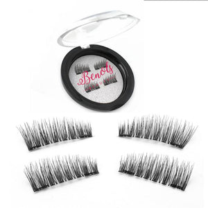 Magnetic False Eyelashes- 2 Magnets - Benols Beauty