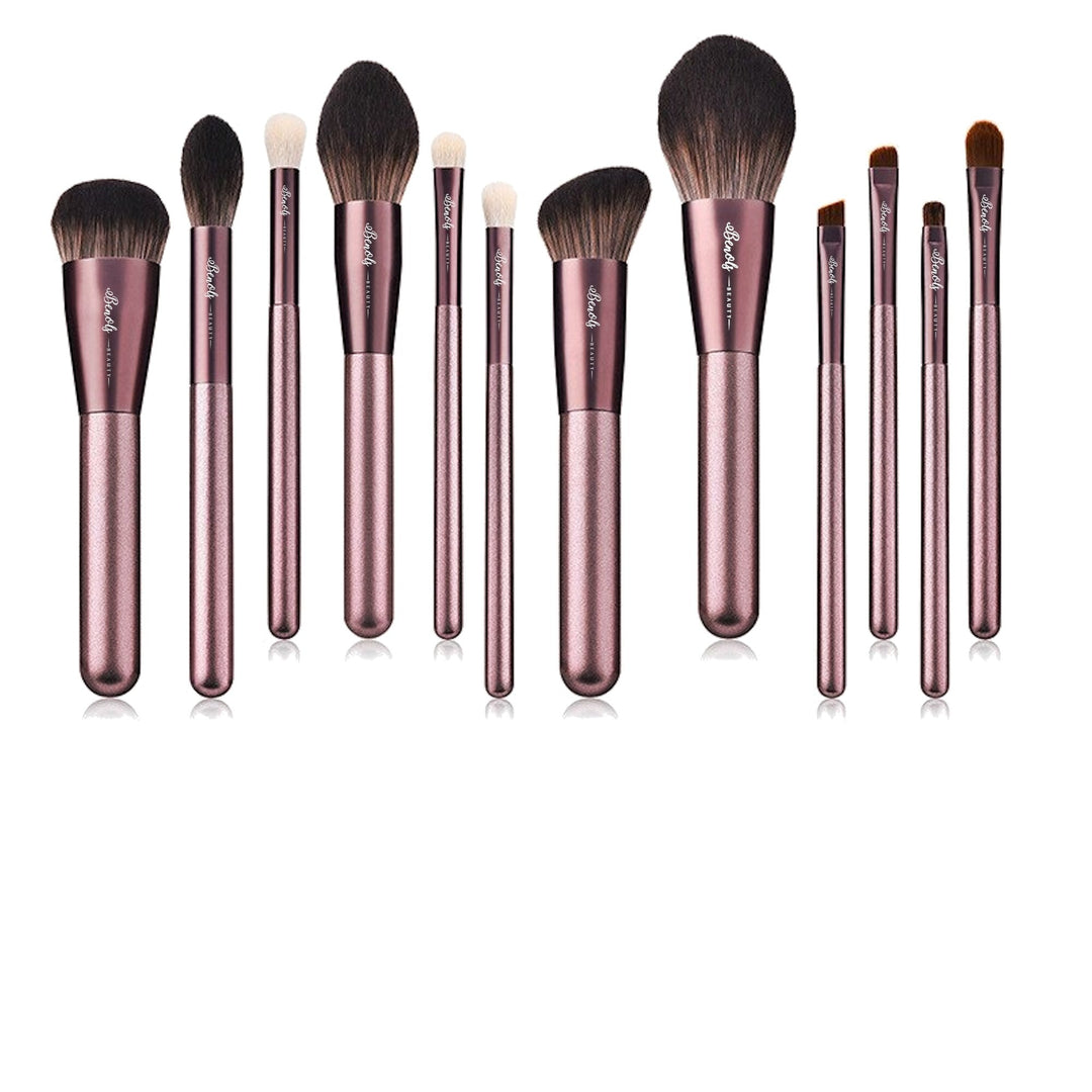 12 PCS  Professional Makeup Brushes - Benols Beauty