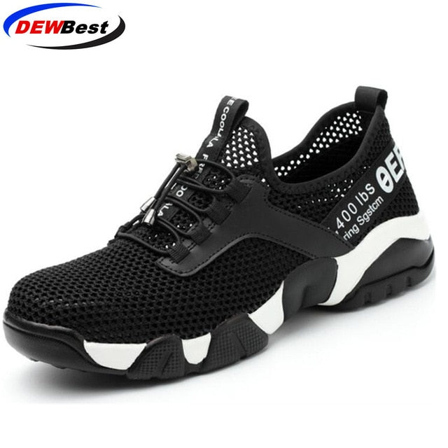Aramid Anti Sandals Single Shoes Men's Piercing Mesh And Sneakers Women Summer Work Breathable Safety Sole Lightweight Smashing m0Nwnyv8OP