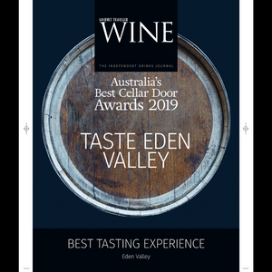Gourmet Traveller WINE award the BEST Tasting Experience