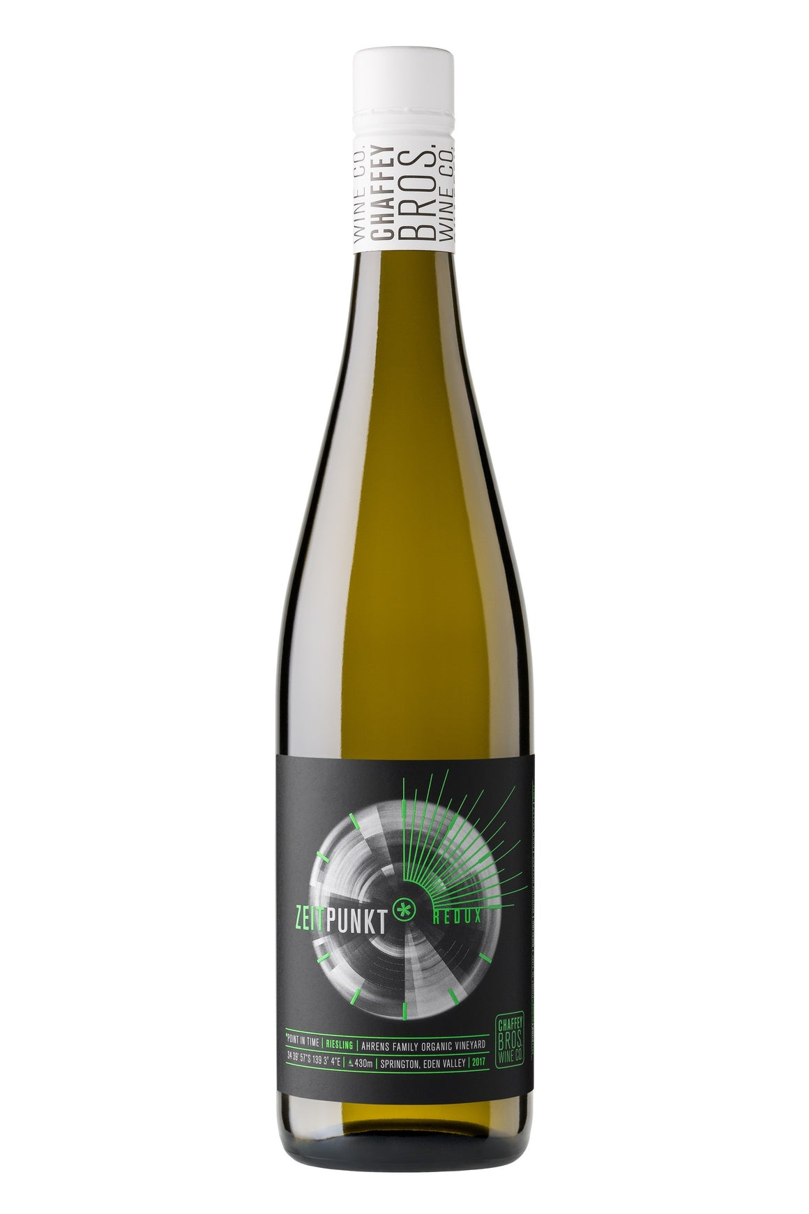 2015 Chaffey Bros Wine Co. Redux Museum Release Riesling