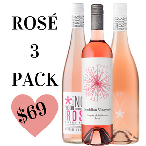 Rosé 3 Bottle Pack!