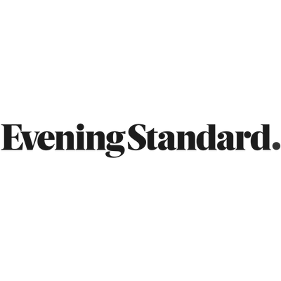 Evening Standard logo, who featured the Komodo Pink toiletry bag in their sustainable Christmas gift guide