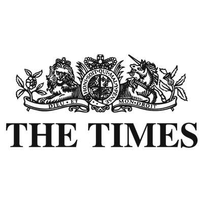 The Times logo, who featured OneNine5 Founder, Alex Stewart and the travel toiletry bag