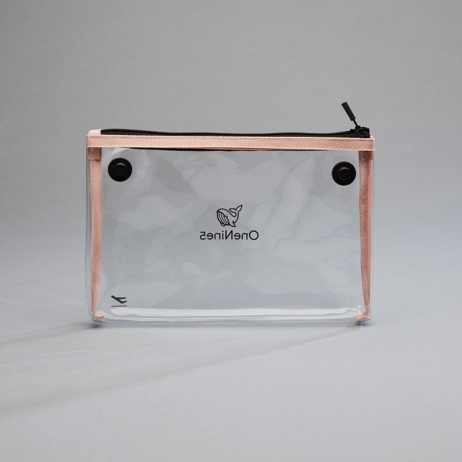 Replacement Liquid Toiletry Bag, Komodo Pink