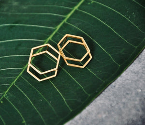 DANI vergoldet Ohrring | Earring Gold - The Santai Collection