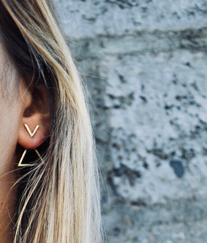 MELIA Ohrring | Earring Gold - The Santai Collection