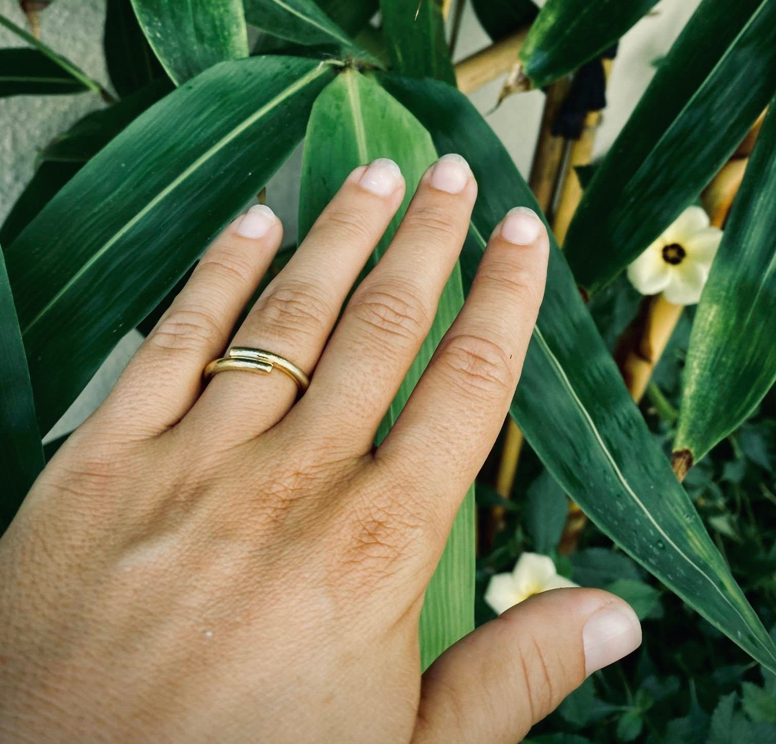 MILU Ring Gold - The Santai Collection