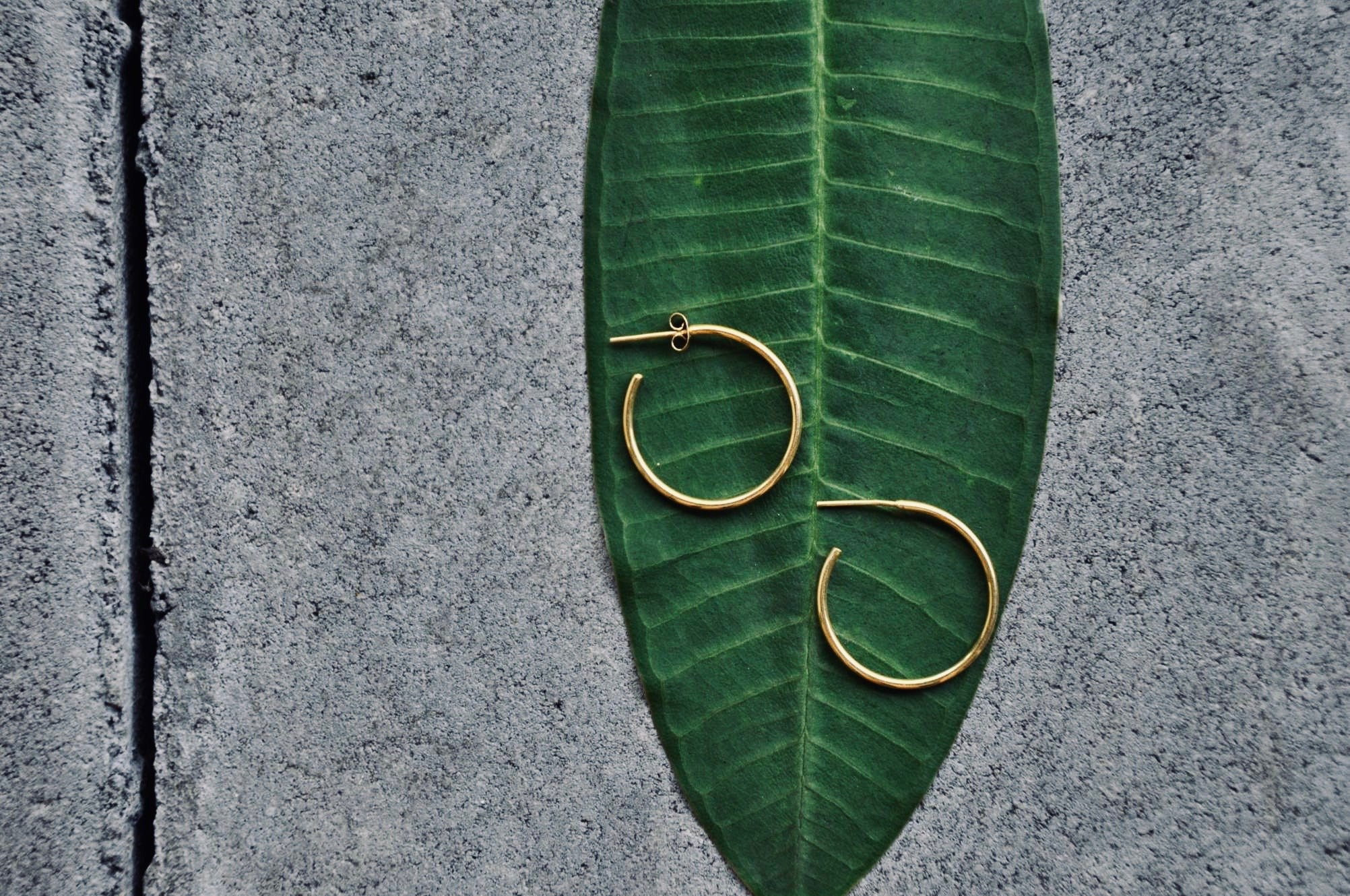 NARA Ohrring | Earring Gold - The Santai Collection