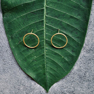NILOU Ohrring | Earring Gold - The Santai Collection