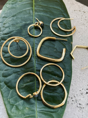 DIAN Ohrring | Earring Gold - The Santai Collection