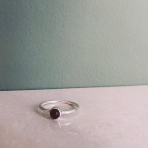 ITA TIGER EYE Ring Silver