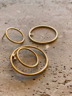 LANA Ohrring | Earring Gold - The Santai Collection
