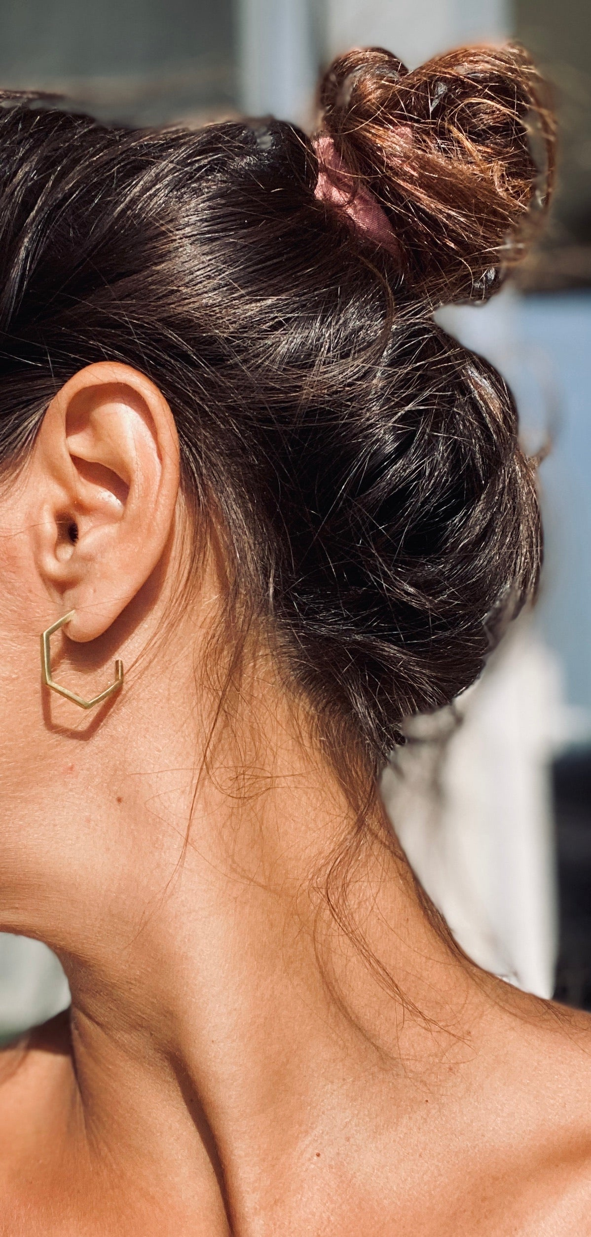 SARA Ohrring | Earring Gold - The Santai Collection