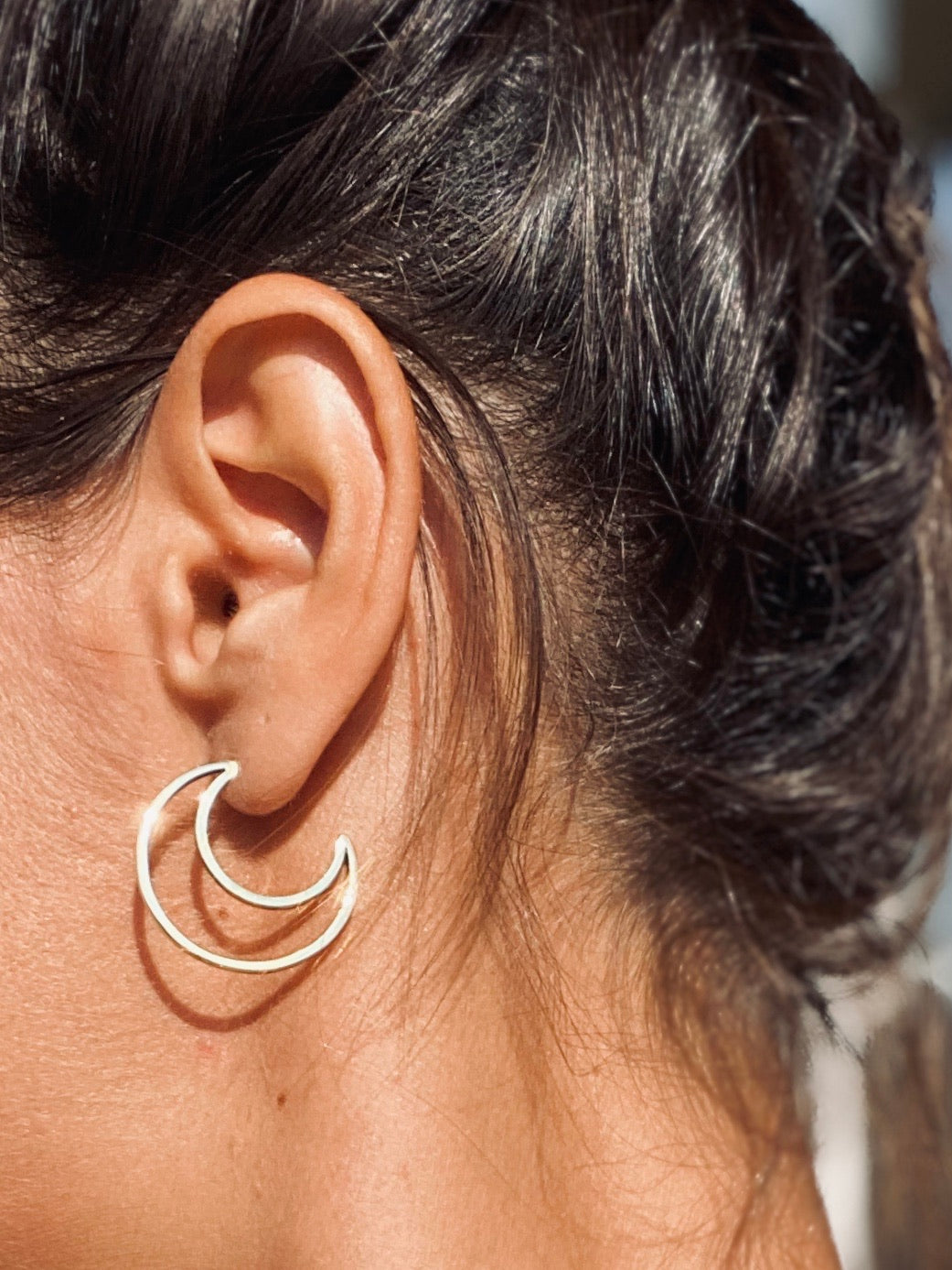 SEA YOU MOON Ohrring | Earring Gold - The Santai Collection