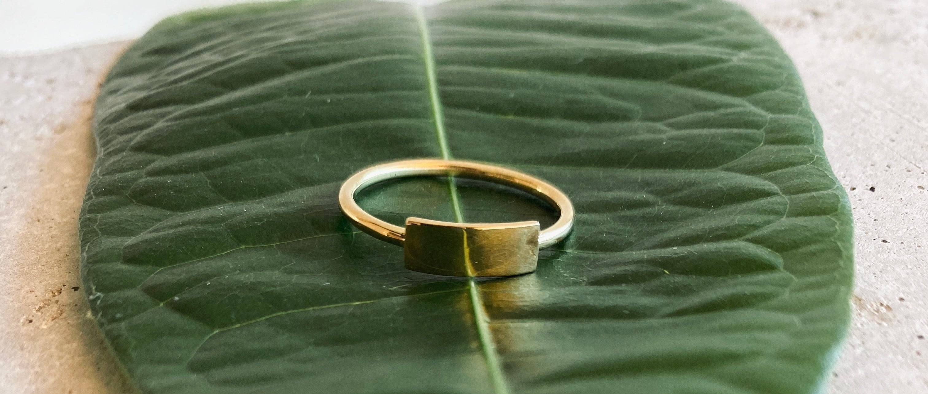 LENI Ring Gold - The Santai Collection