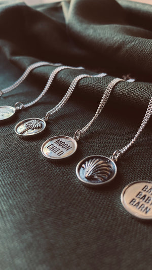 DREAMSEA. Collection | THE PALM Halskette | Necklace Silver