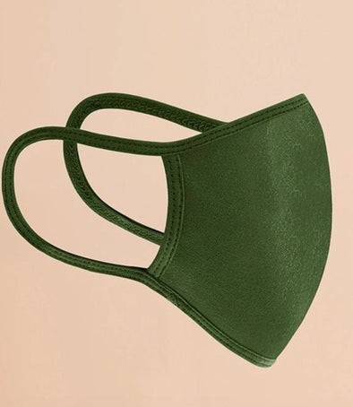 Reusable Fashion Face Mask - Green
