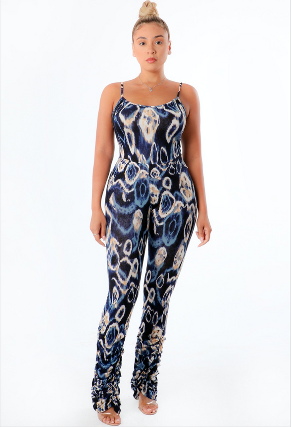 Tiffany Abstract Jumpsuit