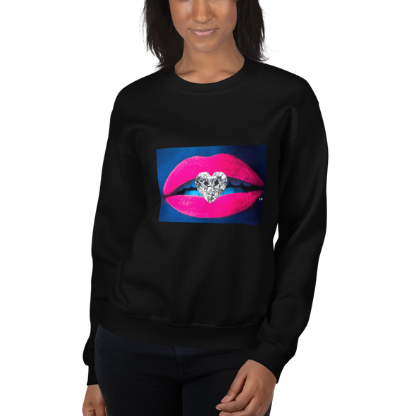 Diamond Kiss Lugzeries Unisex Sweatshirt