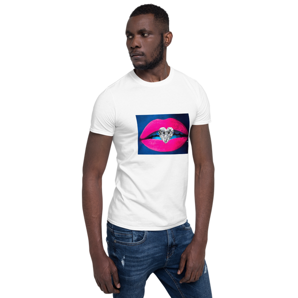 Diamond Kiss Short-Sleeve Unisex T-Shirt