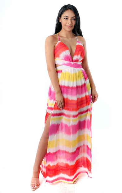 Grace Tie Dye Maxi Dress