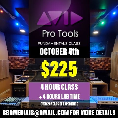 PRO TOOLS FUNDAMENTALS CLASS [GOLD PACKAGE]
