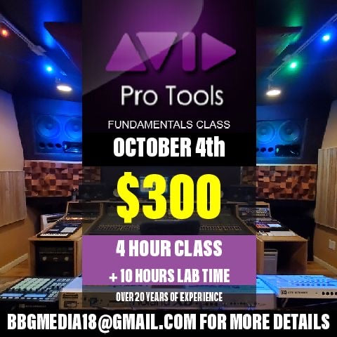 PRO TOOLS FUNDAMENTALS CLASS [PLATINUM PACKAGE]