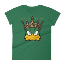 Load image into Gallery viewer, King x Duck Women's short sleeve t-shirt