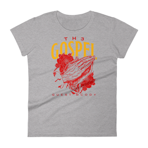 Th3 Gospel Collection Ladies Ringspun Fashion Fit T-Shirt with Tear Away Label
