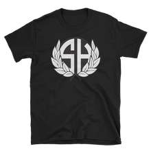 Load image into Gallery viewer, Stash House Wreath Unisex Softstyle T-Shirt with Tear Away Label