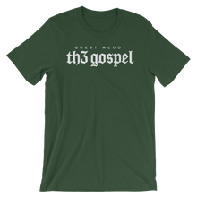 Load image into Gallery viewer, Men's Th3 Gospel Script Unisex Short Sleeve Jersey T-Shirt with Tear Away Label