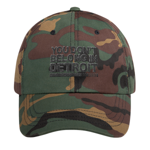 YDBID Unstructured Classic Dad Cap