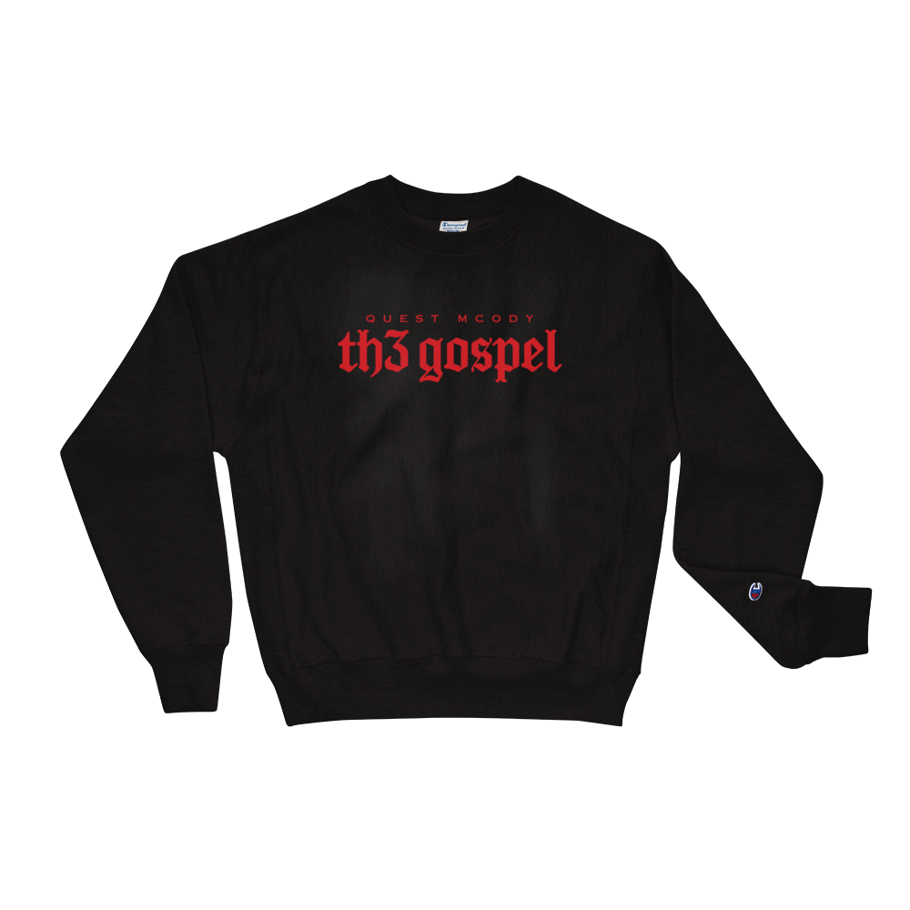 Th3 Gospel X Champion Crewneck Sweatshirt