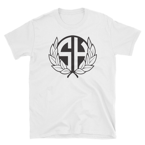 Stash House Wreath Unisex Softstyle T-Shirt with Tear Away Label