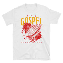 Load image into Gallery viewer, Th3 Gospel Collection Red/Gold Unisex Softstyle T-Shirt with Tear Away Label