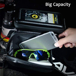 6.2 Inch Phone Case Touch Screen Frame Front Top Tube Bike Bag - Northern Bears
