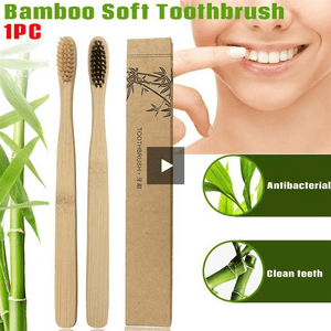 Bamboo Wood Toothbrush For Oral Care - Northern Bears