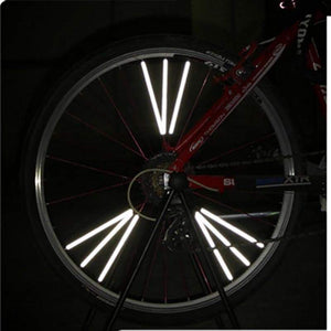 Bicycle wheel spoke reflector - Northern Bears