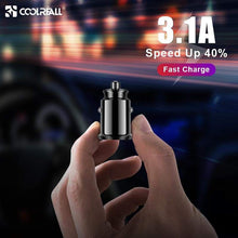 Load image into Gallery viewer, Mini USB Car Charger Adapter 3.1A With  Digital LED Display - Northern Bears