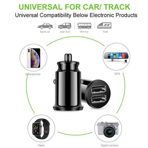 Mini USB Car Charger Adapter 3.1A With  Digital LED Display - Northern Bears
