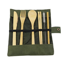 Load image into Gallery viewer, Bamboo Utensils Set - Northern Bears