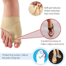 Load image into Gallery viewer, 1Pair Toe Separator Hallux Valgus Bunion Corrector - Northern Bears