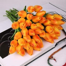 Load image into Gallery viewer, 10 Pcs Real Touch Latex Tulips Flower - Artificial Bouquet - Northern Bears
