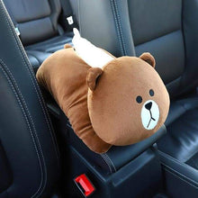 Load image into Gallery viewer, High Quality Universal Car Armrest Cartoon Tissue Box - Northern Bears