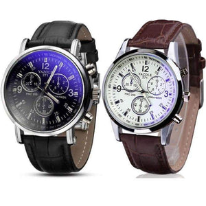 Luxury Leather Men's Watch - Northern Bears