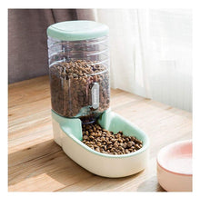 Load image into Gallery viewer, 3.8L Automatic Pet Feeder Bowl Water Dispenser - Northern Bears