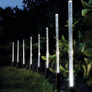 Solar Power Acrylic Tube Lights Lamp Sets - Northern Bears
